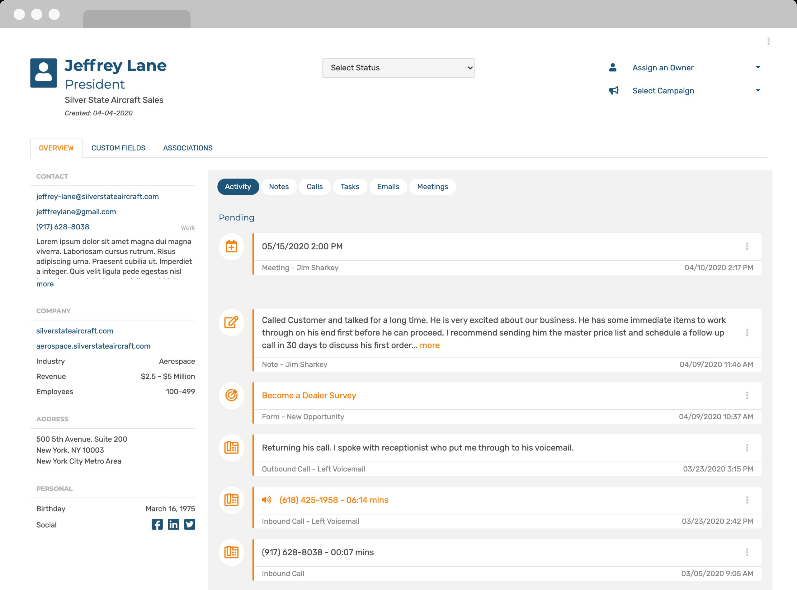 software-contact-management