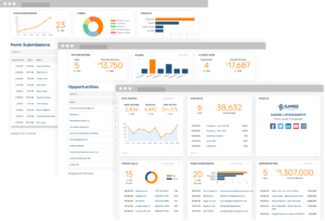 Marketing Dashboard and CRM